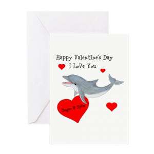 Personalized Dolphin Greeting Cards
