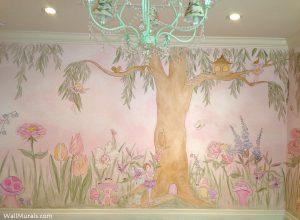 Fairy Tree Mural