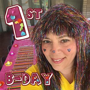 1st Birthday Entertainment - Sparkles the Clown