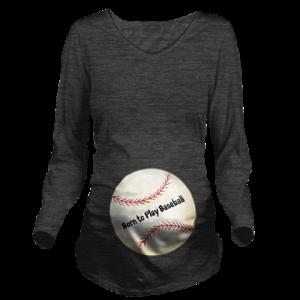 Personalized Baseball Maternity T