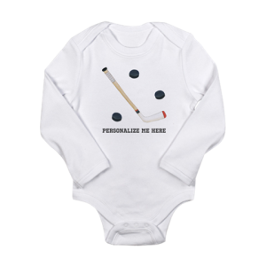 Personalized Hockey Baby Clothes