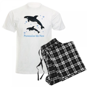 Personalized Orca Whale Pajamas