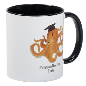Personalized Mug for Graduate - Octopus