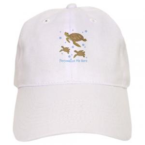 Personalized Sea Turtle Hat - Cap