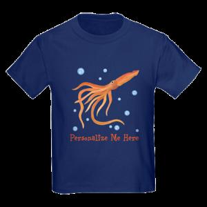 Personalized Squid Tshirt