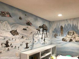 Star Wars Mural - Painted in Los Angeles, CA