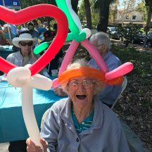 Balloons for Seniors